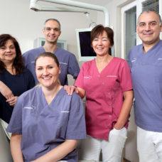 MVZ Klarenthal - Zahnärzte und Praxisteam 2019