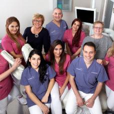 MVZ Goldgasse - Zahnärzte und Praxisteam 2019